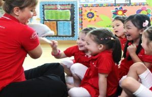 A lot of Singapore nursery school is play-based
