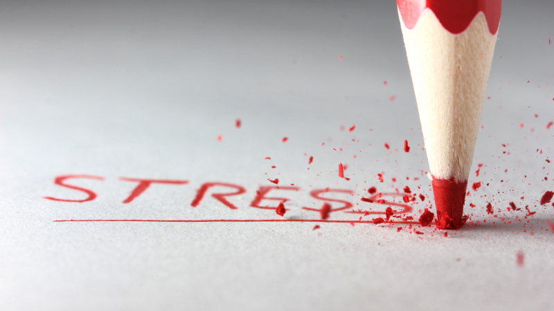 The importance of controlling stress