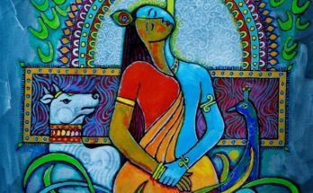 buy paintings Krishna_and_Radha
