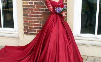 burgandy prom dresses