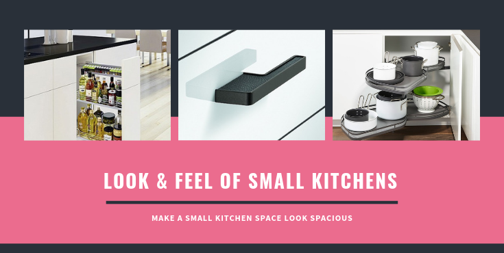 Look & feel of Small kitchens