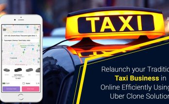 Re-launch taxi business online