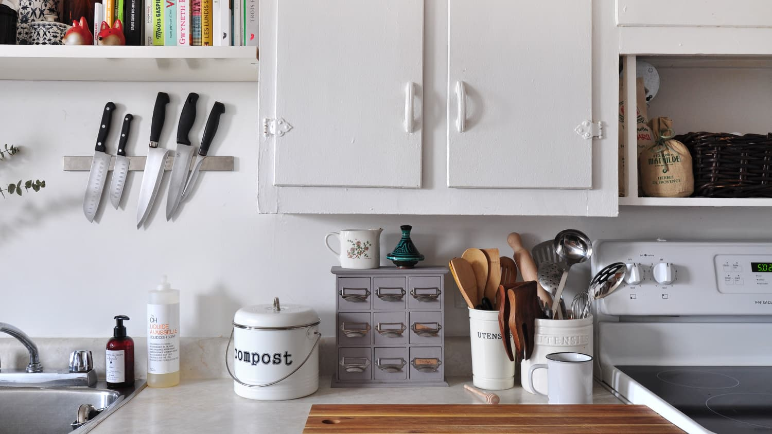 How do you store small kitchen gadgets?